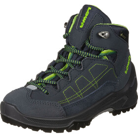 Lowa Approach GTX Mid Chaussures Enfant, navy/lime